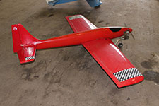 Fast Low Wing Model Aircraft